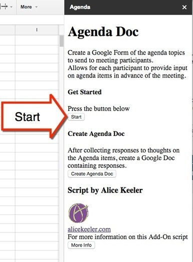 Agenda Doc: Send a Google Form and Create an Agenda | PLNs for ALL | Scoop.it