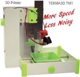 Tekma3D TM1 3D Printer, more speed and less noisy | Home & Garden | Scoop.it