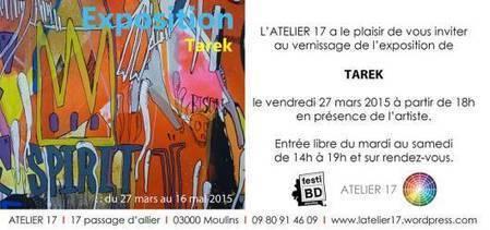Exposition Tarek à Moulins | Tarek artwork | Scoop.it