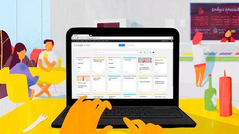 Google Keep, así es el nuevo gestor de notas de Google | google + y google apps | Scoop.it