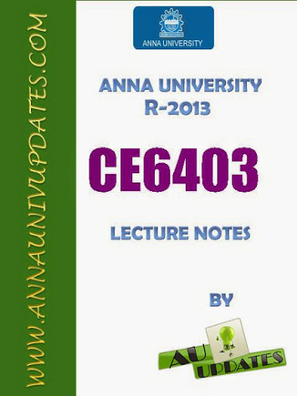 CE6403 Applied Hydraulic Engineering Ahe Lecture Notes and Question Bank - 2 mark with answers ~ Anna University Nov Dec 2014 Results- Auupdates | Anna UNiversity Updates | Scoop.it