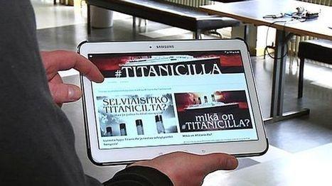Titanic uppoaa ensi yönä – laivalta twiitanneille nuorille järjestetään roolien purkuhetki | Kirjastoista, oppimisesta ja oppimisen ympäristöistä | Scoop.it