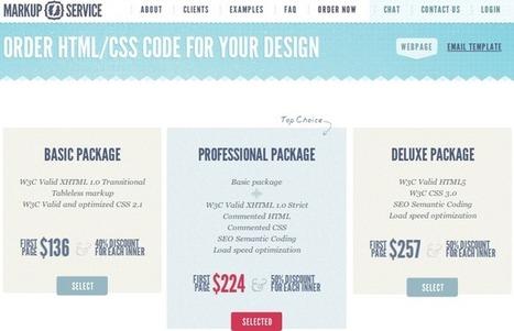 25 Best PSD to HTML Service Providers of All Times | BestDesignTuts | Solutions Bureautiques et Multimédia | Scoop.it