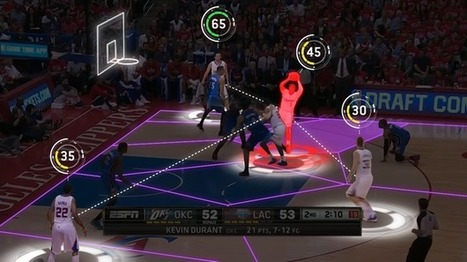 New Players In The NBA: Big Data, User-Controlled Jumbotrons | TechNoiz | Scoop.it