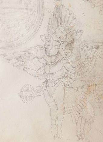 Mysterious Box Contains Detailed Drawings of Winged Aliens; WWII Vet Presumed Owner - The Epoch Times | Beyond Science | Scoop.it