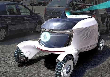 Autonomous car concept is really a tiny apartment on wheels | leapmind | Scoop.it