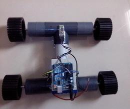 CUSTOM BUILD 4WD BLUETOOTH RC ROBOT USING PVC | Open Source Hardware News | Scoop.it