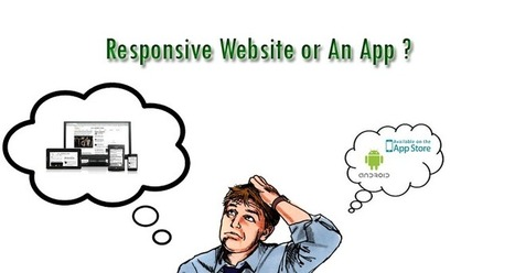 How to decide between a Mobile Websites or a Native Mobile Application?   Website Design Services   Scoop.it