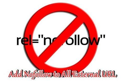 How To Add Nofollow to External Links In WordPress or Blogspot | Tutorial for beginners | Scoop.it