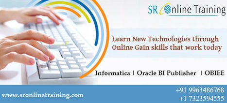 #OBIEE Training through Online by sronlinetrainin www.sronlinetraining.com   Sr Online Training   Scoop.it