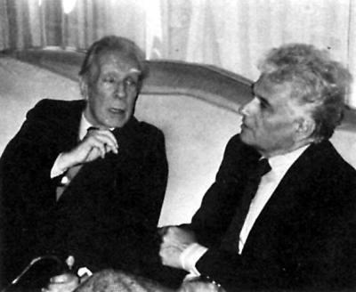 Jacques Derrida and Jorge Luis Borges | biblioklept | Derrida & Deconstruction in Education | Scoop.it