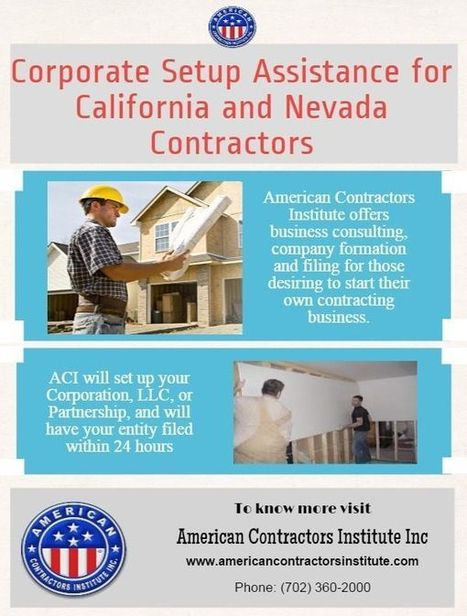 Common Mistakes and Issues While Applying From a Contractor License School | American Contractors Institute | Scoop.it