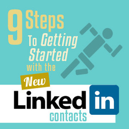 LinkedIn Contacts: 9 Steps To Using The New LinkedIn Contacts | Small Business and Social Media | Scoop.it