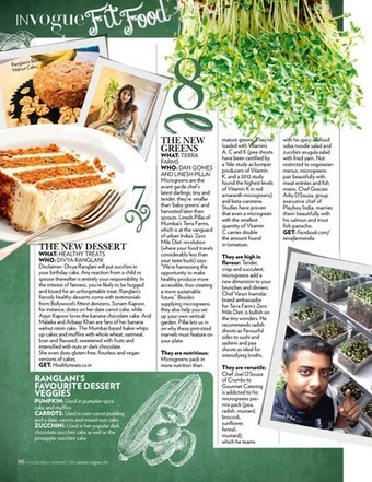Microgreens Around the World ... | Vertical Farm - Food Factory | Scoop.it