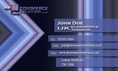 Business card template Tempest | Cheap Business Cards | UK Ecommerce Software Solutions | Online Shopping cart | Scoop.it