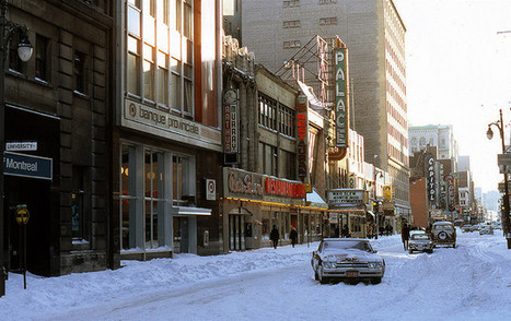 Pictures Of A Montreal Winter Day In 1972 | brainwave | Scoop.it