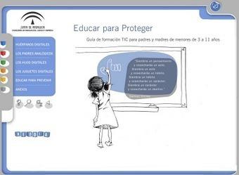 Educar para proteger: promoure l'ús de les TIC, un aspecte indispensable! | Educació i TICs | Scoop.it
