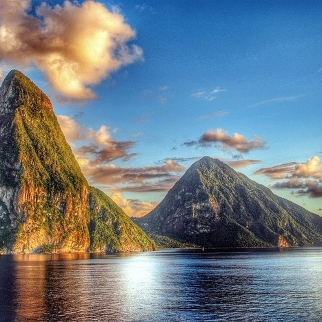 Majestic Pitons on a Monday Morning in Saint Lucia | Saint Lucia Tourism | Scoop.it