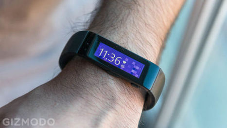 Microsoft Band Hands-on: An activity Tracker that's actually Smart | Technology in Business Today | Scoop.it