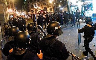 Espagne : Manifestation et balles en caoutchouc | Mouvement. | Scoop.it