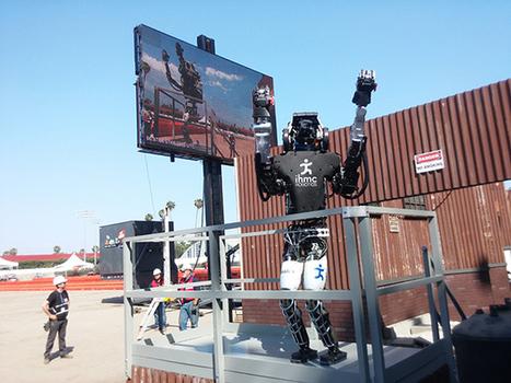 IHMC's Running Man captures 2nd at DARPA robotics competition | Educación flexible y abierta | Scoop.it