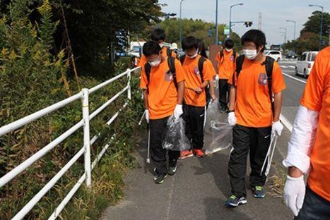 Les petits bénévoles innocents qui nettoient la route radioactive - Fukushima | Japon : séisme, tsunami & conséquences | Scoop.it