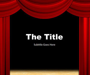 Theater PowerPoint Template | Strictly Ballroom | Scoop.it
