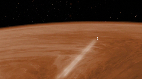 Venus Express Survives Close Encounter With Hellish Atmosphere | leapmind | Scoop.it