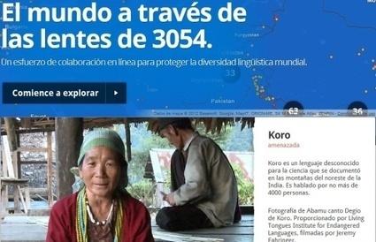 Google crea portal para preservar idiomas en extinción, Revista de Educación 2.0 « | Segunda Lengua | Scoop.it