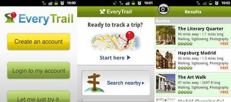 ¿Amante del senderismo? EveryTrail te ayudará con tus rutas | Viajes y tiempo libre | Scoop.it