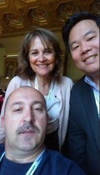 The Harvard, Stanford, Wales Selfie in Paris at Doctors 2.0 & You #doctors20  @alanroygbiv | Doctors 2.0 & You | Scoop.it