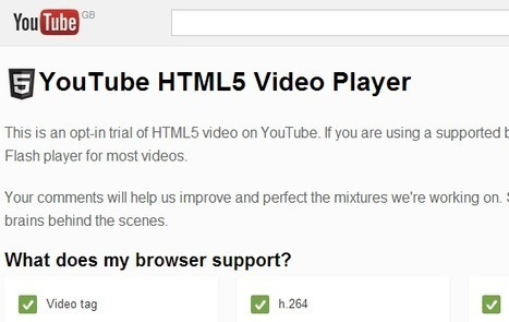 Speed Up Your YouTube Experience By Signing Up For the HTML5 Trial | Time to Learn | Scoop.it