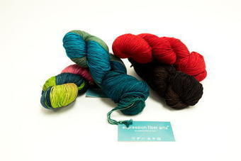 Strawberry Resilient Superwash Merino Sock Yarn Giveaway | Ecological Organic Yarn | Scoop.it