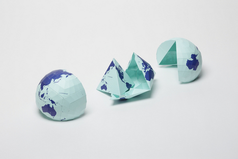 Mapping the globe with tertrahedral projection | Communicating Science | Scoop.it