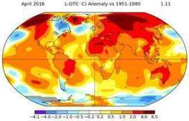 April breaks global temperature record - BBC News | Limitless learning Universe | Scoop.it