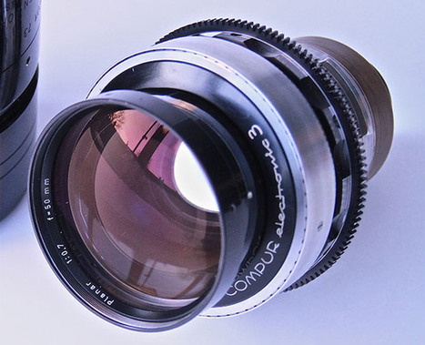 Kubrick's f/0.7 lenses now available for rent (but start saving up)   Fotografía   Scoop.it