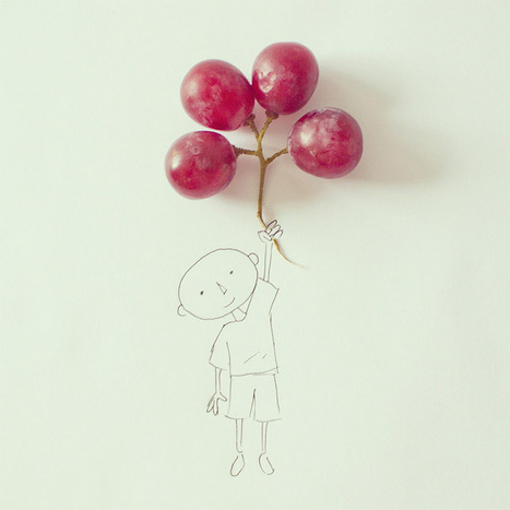 Art Director Javier Pérez Turns Everyday Objects into Whimsical Illustrations   21 Century Education   Scoop.it