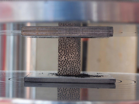 Metal Foam can allow lighter radiation shielding that is twice as effective as Aluminum | New Space | Scoop.it