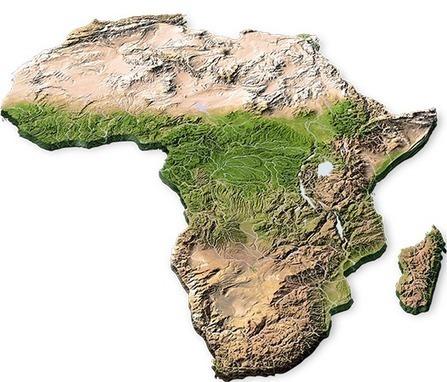 Volkskrant.nl - In kaart: Het Afrika van groei. Of geweld | Aardrijkskunde | Scoop.it