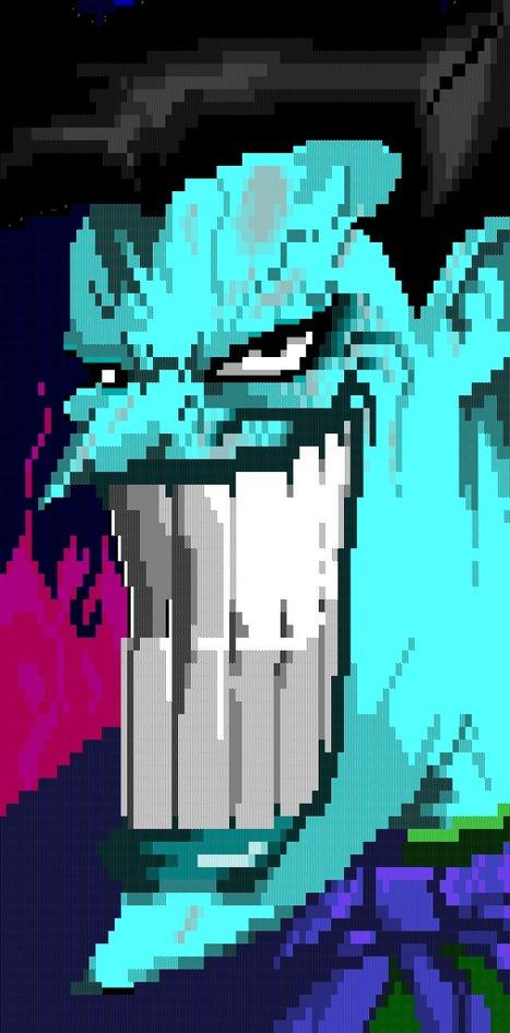 The Joker #ANSI #Art on Twitpic   ASCII Art   Scoop.it