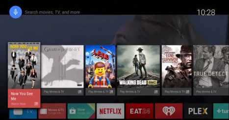 Google Formally Launches Android TV. Android TV Set-Top Boxes and TVs to be Available in H2 2014 | Embedded Systems News | Scoop.it