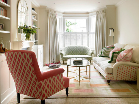 Creative Ways to Mix and Match Your Sofas and Chairs | Designing Interiors | Scoop.it