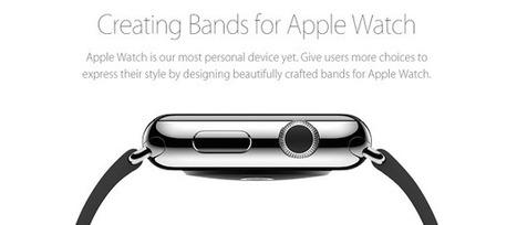 Made for Apple Watch: un label qui ouvre la création de nouveaux bracelets ! | WebZeen | L'actu Web | WebZeen | Scoop.it