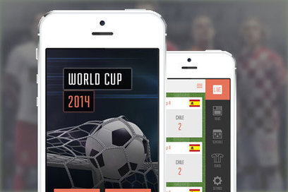 Fifa 2014 World Cup Apps for Soccer Lovers | Smartphone Stories | Scoop.it