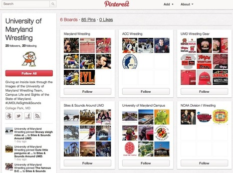 How Universities are Using Pinterest | Genius Recruiter | Marketing for Education | Scoop.it