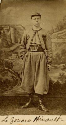 Départ des zouaves pontificaux pour Rome [Montréal, 19 février 1868] | tolkien2008 | L'écho d'antan | Scoop.it