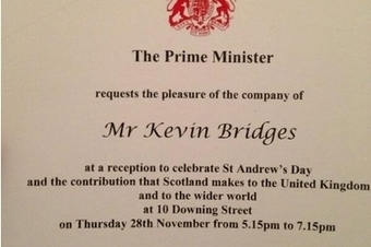 Kevin Bridges snubs Downing St invite to St Andrew's Day party   Referendum 2014   Scoop.it