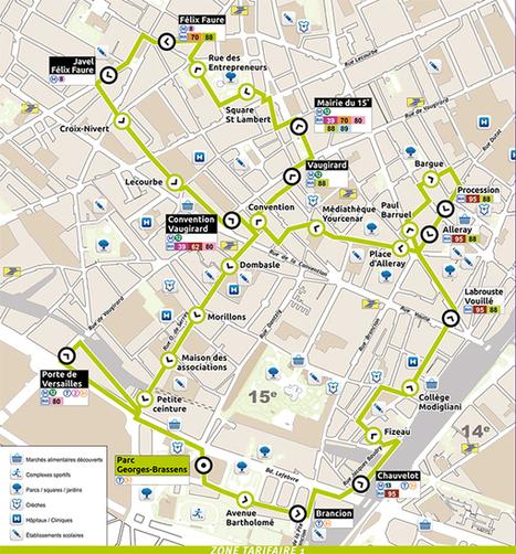 BE Green inaugure une nouvelle ligne de bus électriques à Paris   Mobilité   Scoop.it