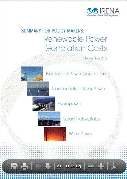 La paridad de red fotovoltaica será pronto la norma, en lugar de la excepción IRENA | Press Releases | net metering | Scoop.it
