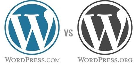 Quelle différence entre WordPress.com & WordPress.org ? | WordPress France | Scoop.it